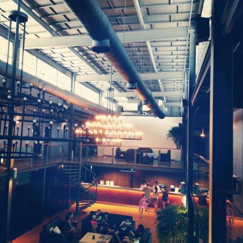 Quayside Hotel - refurbished warehouse